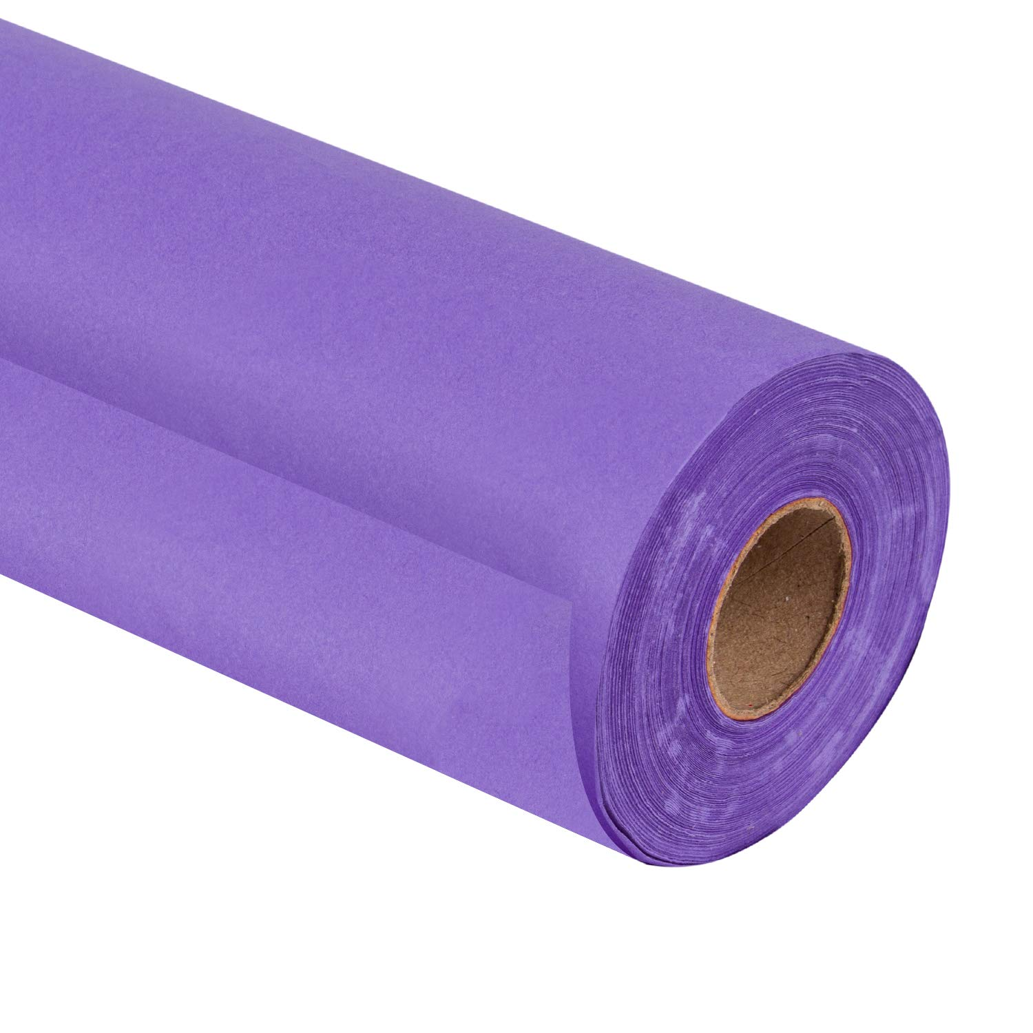 RUSPEPA Purple Kraft Paper Roll - 30 inch x 100 Feet - Recycled Paper Perfect for Crafts, Art, Gift Wrapping, Packing, Postal, Shipping, Dunnage, Parcel
