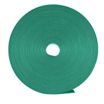 uxcell Heat Shrink Tubing 8mm Dia 12.5mm Flat Width 10m Length 2:1 Heat Shrink Wrap Cable Sleeve Tube Green