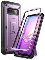 SUPCASE Unicorn Beetle Pro Series Designed for Samsung Galaxy S10 Case (2019 Release) Full-Body Dual Layer Rugged with Holster & Kickstand Without Built-in Screen Protector (Purple)