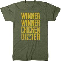Winner Winner Chicken Dinner Mens Modern Fit Tri-Blend T-Shirt