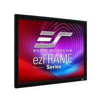Elite Screens ezFrame Series, 150-inch 4:3, Rear Projection Fixed Frame Home Theater Projection Screen, Model: R150RV1