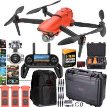 Autel Robotics EVO 2 Pro Drone Folding Quadcopter Rugged Combo 6K HDR Video and Mapping EVO II Pro Extended Warranty Expedition Bundle w/Extra Battery + Hard Case + Remote + Backpack + Software Kit