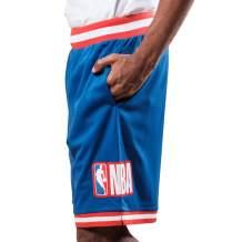 Ultra Game NBA Men's Woven Active Basketball Shorts