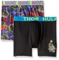Marvel Boys' Thor 2-Pack Athletic Boxer Brief