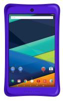 "Visual Land Prestige ELITE 8Qi : 8"" INTEL Atom X3 QuadCore 16GB IPS 1280 X 800 Android 5.1 Lollipop, WiFi, Bluetooth, Google Certified Tablet w/BUMPER - Purple"