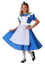 Child Alice in Wonderland Deluxe Alice Costume Dress