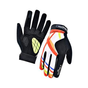 gloves,Mountain Road Bike Motorcycle gloves with Gradient Color Design for men//Women Kansoom Cycling-Gloves Breathable Gel-Padded Touchscreen full-finger
