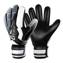 Brace Master Goalie Gloves for Youth & Adult, Goalkeeper Gloves Kids with Finger Support, Soccer Gloves for Men and Women, Junior Keeper Football Gloves for Training and Match, Size 7/8/9/10/11