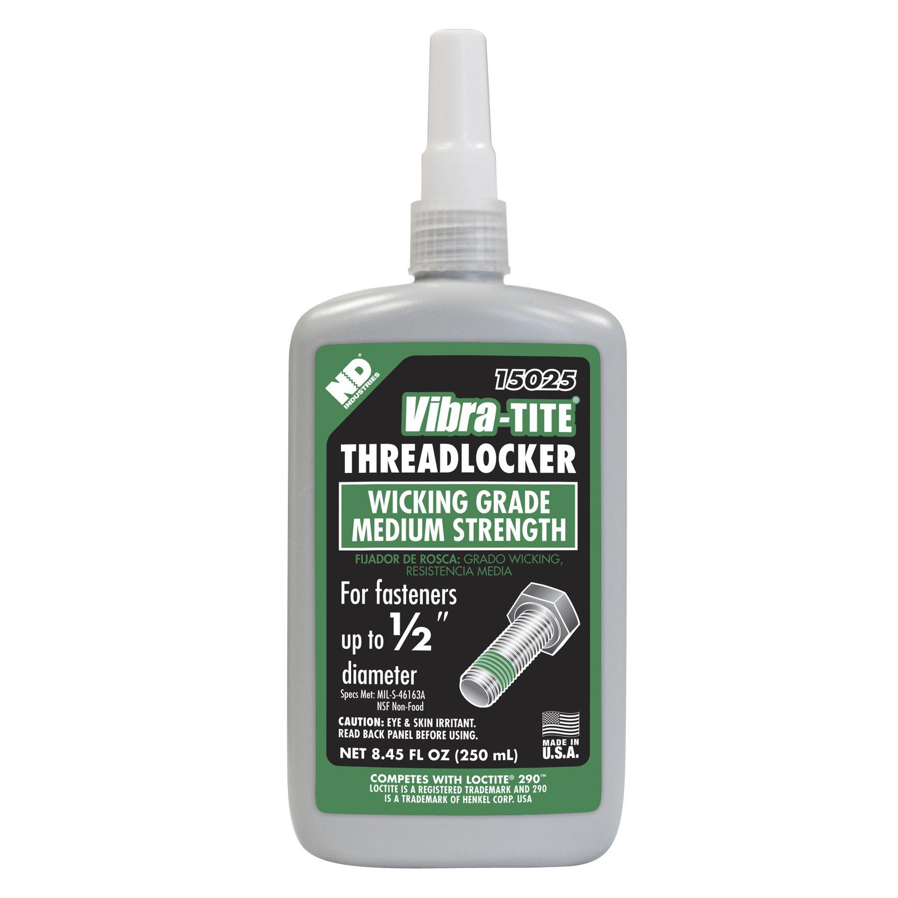 Vibra-TITE 150 High Strength Anaerobic Threadlocker, 250 ml Bottle, Green