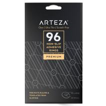 ARTEZA Non Slip Adhesive Glass Rings - Rubber Pads - (Set of 96)