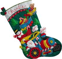 Bucilla Choo Santa Stocking Kit