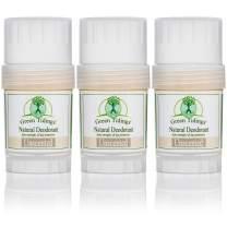 Green Tidings Natural & Unscented Deodorant | Vegan, Organic Deodorant for Men and Women, Fragrance Free & Aluminum Free Deodorant, Underarm Antiperspirant 1oz 1 Pack