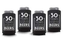 Coolies Can Coolers Collapsible Beer Soft Drinks Bottle Soda Sleeves Durable Insulators Premium Quality for Birthday Party 30 Y&CB Black Set of 12