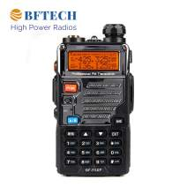 BFTECH BF-F5XP 5 Watt Dual Band Radio 136-174mhz (VHF) 400-520mhz (UHF) Amateur (Ham) Portable Two-Way Radio