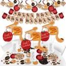 Big Dot of Happiness Rosh Hashanah - Jewish New Year Supplies - Banner Decoration Kit - Fundle Bundle