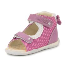 Memo Mini Baby Girl First Walker Orthopedic Leather Anti-Slip Sandal