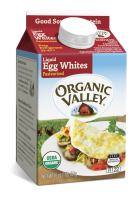 Organic Valley, Organic Liquid Egg Whites - 16 oz Pint