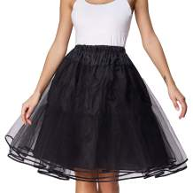 Belle Poque Women's 50S Petticoat Skirts Tutu Crinoline Underskirts