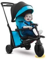 smarTrike smarTfold 500 Folding Baby Tricycle, Blue