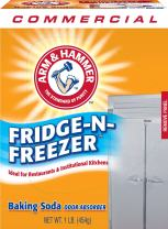 Arm & Hammer 3320084011CT Fridge-N-Freezer Pack Baking Soda, Unscented, Powder, 16 Oz (Case of 12)