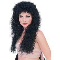 Rubie's Costume 70's Long Curly Wig