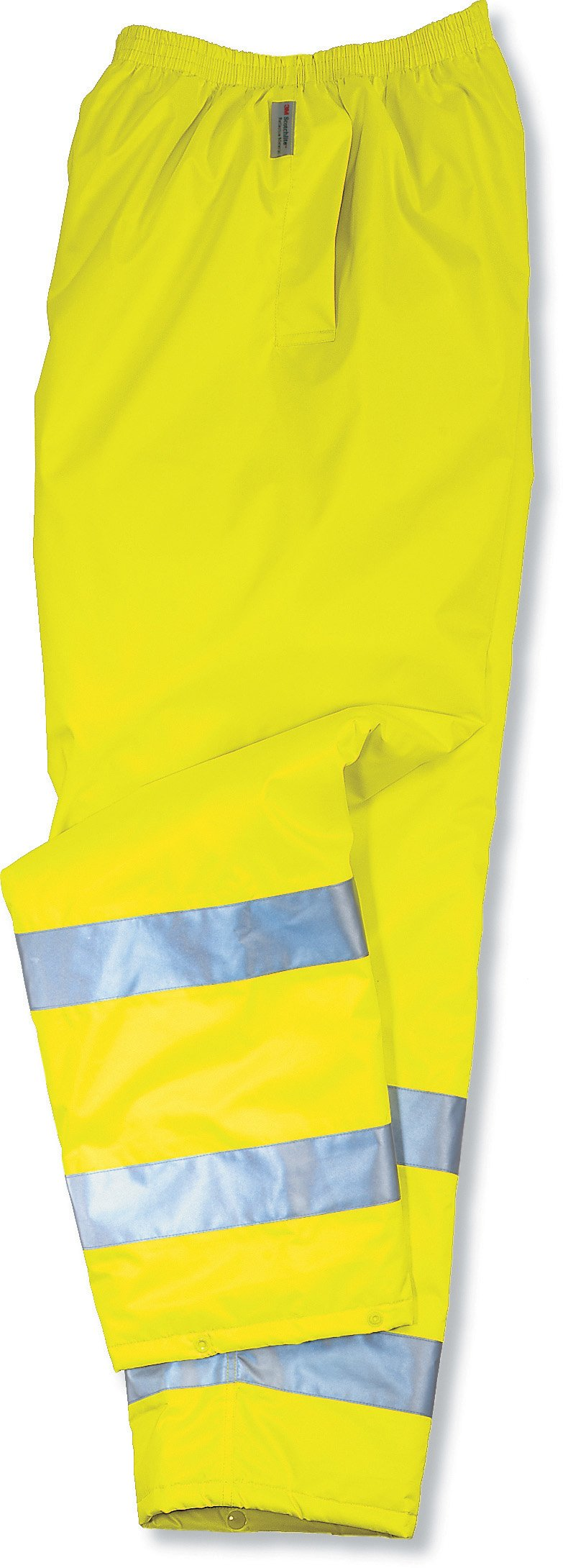 Ergodyne GloWear 8925 ANSI High Visibility Lime Reflective Thermal Safety Pants, Small