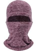 ROWILUX Men's Fleece Ski Balaclava Hood Cold Weather Windproof Face Mask