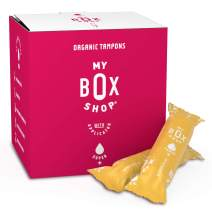 Organic Tampons - Super Plus Absorbency Organic Cotton Tampons, Natural Tampons Super, Super Tampons Organic, Non-Toxic Feminine Hygiene Products for Vaginal Health (32ct applicator)
