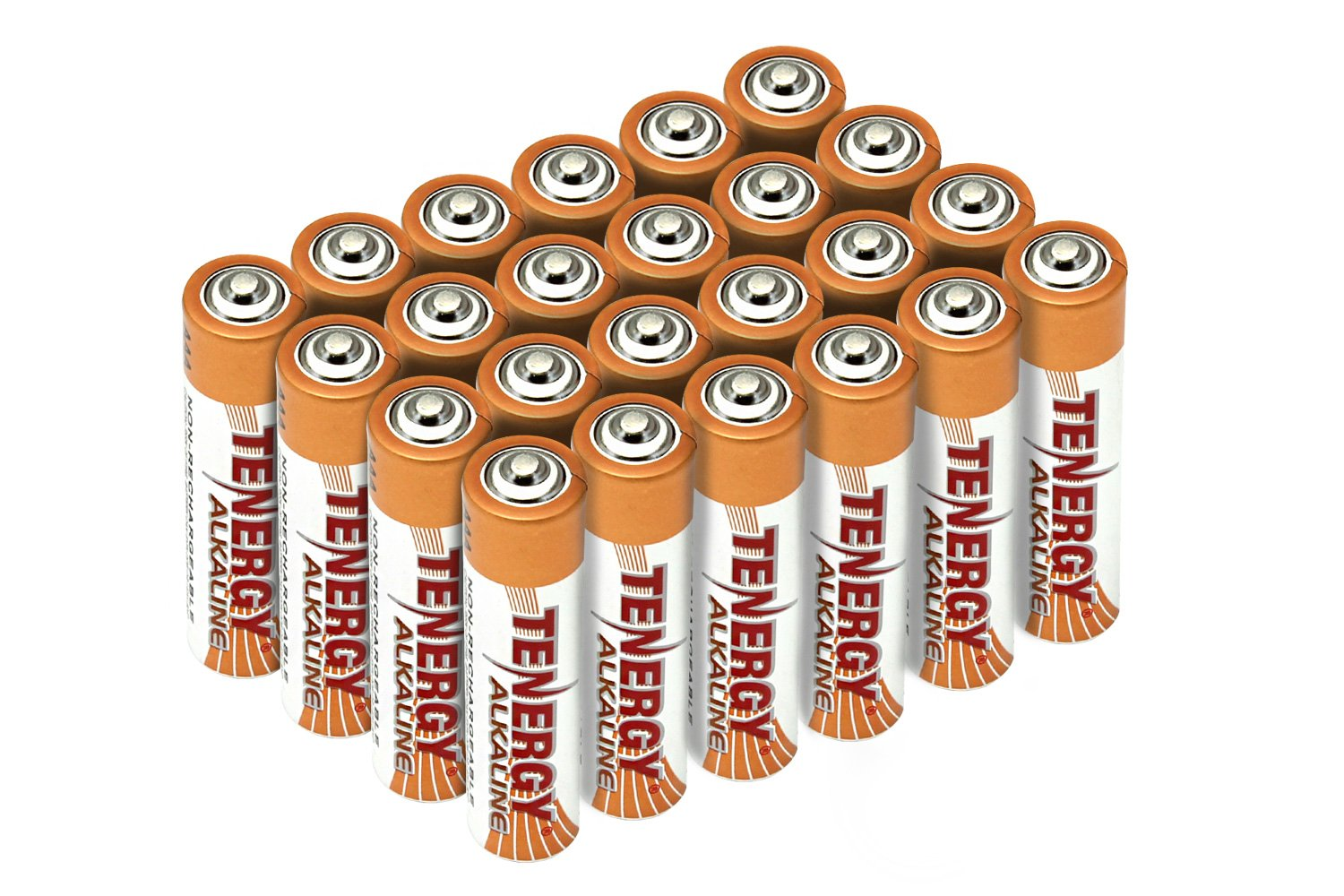 Tenergy 1.5V AAA Alkaline Battery, High Performance AAA Non-Rechargeable Batteries for Clocks, Remotes, Toys & Electronic Devices, AAA Cell Batteries, 24-Pack
