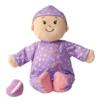 """Manhattan Toy Baby Stella Sweet Dreams Soft First Baby Doll for Ages 1 Year and Up, 15"""""""