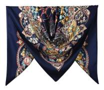 """40"""" Women Twill Satin Polyester Silk Feeling Square Hair Wrapping Square Scarfs"""
