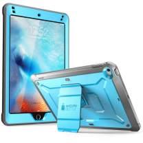 Supcase Unicorn Beetle Pro Series Design for Ipad Mini 5 Case, with Built-in Screen Protector Full-Body Rugged Kickstand Hybrid Case for Ipad Mini 5 (2019 Release) & iPad Mini 4 (Blue)