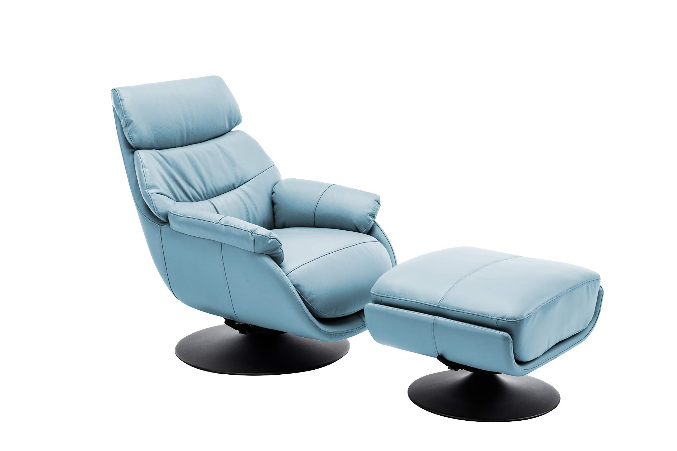 World Source Design Calcutta Rocking Chair, Baby Blue