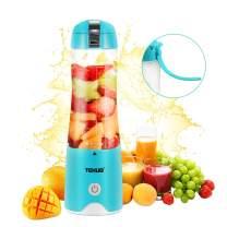 Small blender Portable Smoothie blender Travel Blender Mini Juicer Cup Personal Size Fruit Mixer USB Rechargeable Baby Food Blender Single Serving Juice Blender