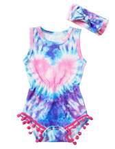 KANGKANG Newborn Baby Infant Girl Clothes Outfits Sleeveless Romper Jumpsuit Summer