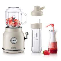 Personal Blender for Shakes and Smoothies, ECX Portable Blender with 6 Sharp Blades, Smoothie Blender with 20.3 oz Tritan BPA-Free Travel Cup and Lid