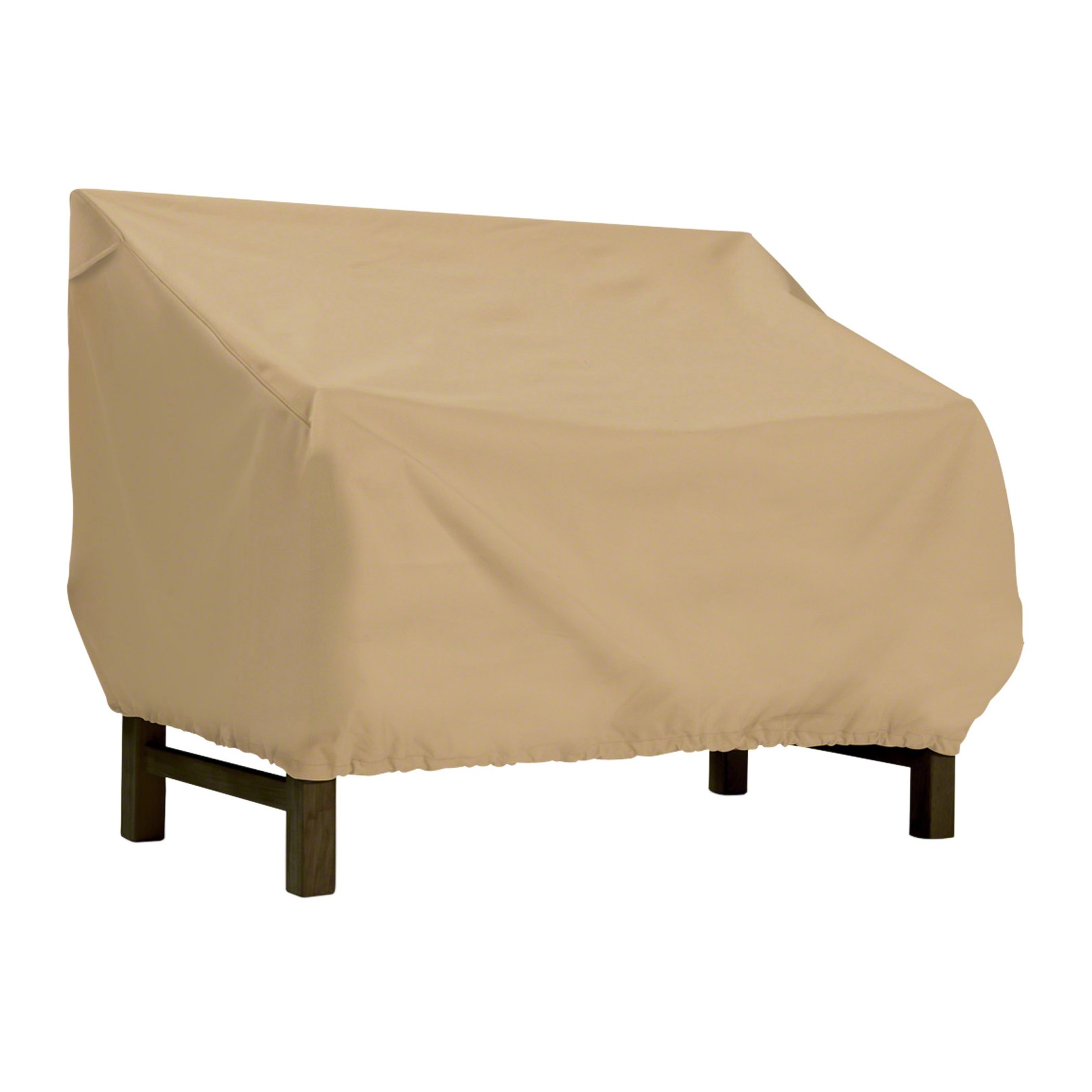 Classic Accessories Terrazzo Water-Resistant 58 Inch Patio Bench/Loveseat Cover