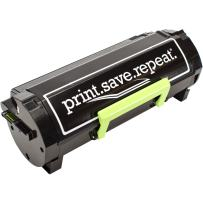 Print.Save.Repeat. Lexmark 601X Extra High Yield Remanufactured Toner Cartridge for MX510, MX511, MX610, MX611 [20,000 Pages]