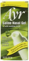 Ayr Saline Nasal Gel with Soothing Aloe, 2 Count,0.5 oz