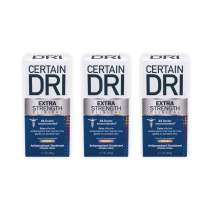Certain Dri Extra Strength Clinical Antiperspirant Deodorant | Extra Effective Protection Against Excessive Sweating | Gentler on Sensitive Skin | Solid | 1.7 Ounces | Pack of 3