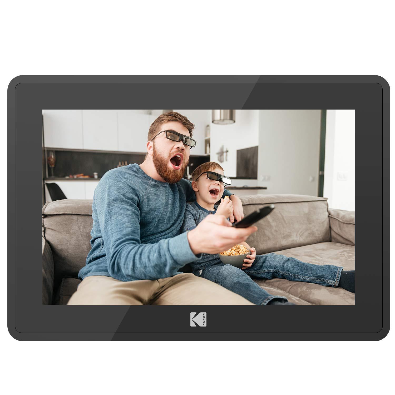 KODAK 10.1 inch WiFi Digital Picture Frame with 1280x800 IPS Touch Screen 16GB Internal Storage Black