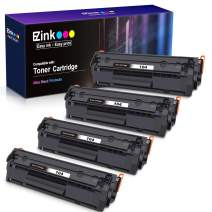 E-Z Ink (TM) Compatible Toner Cartridge Replacement for Canon 104 CRG-104 FX-10 FX-9 to use with FAXPHONE L90 L120 ImageClass D420 D480 MF4350d MF4150 MF4270 MF4370 MF4690 Printer (Black, 4 Pack)