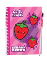 "Scentco Sketch & Sniff Scented Sketchbooks (8.3"" x 5.8"") (Strawberry)"
