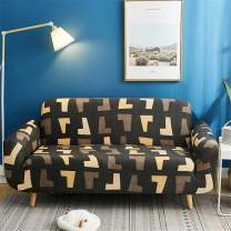 nordmiex Printed Stretch Sofa Slipcover - 1 Piece Elastic Polyester Spandex Couch Covers- Universal Fitted Sofa Slipcover Furniture Protector (Loveseat Sofa,Abstract)