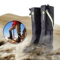 ayamaya Hiking Gaiters Waterproof Kid/Adult Snow Leg Gaitors, Breathable High Boots Children Snake Ski Gaiters for Outdoor Sports Walking Hunting Climbing Mountain Snowboarding