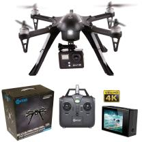 Contixo F17+ RC Quadcopter Photography Drone 4K Ultra HD Camera 16MP, Brushless Motors, 1 High Capacity Battery, Mount Compatible with GoPro Hero Cameras