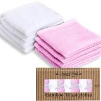 SWEET CHILD 100% Bamboo Luxurious Baby Washcloths (Bonus 8-Pack)
