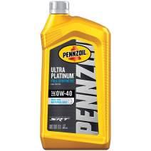 Pennzoil Ultra Platinum Full Synthetic 0W-40 Motor Oil (1 Quart, Case of 6)