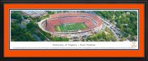 Virginia Cavaliers Football - Aerial View of Scott Stadium - Blakeway Panoramas Print