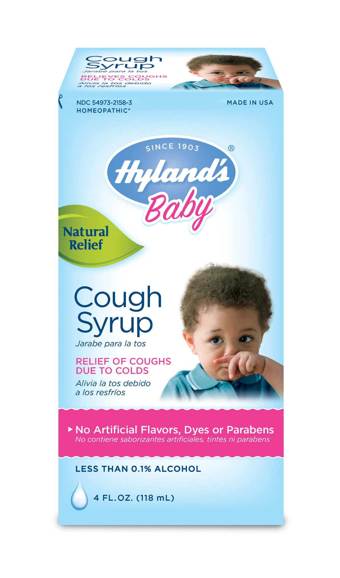 Hyland's Baby Cough Syrup, 4 Fluid Ounce